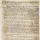 Undated petition of Phillip Gowen to Governor Sir William Berkeley, ca. 1675, Colonial Papers, Folder 19, No. 2, Record Group 1, Library of Virginia, Richmond, Virginia.