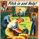 Morley, Hubert. Pitch in and help!: Join the Women's Land Army of the U.S. Crop Corps. [United States : s.n.], 1944, Poster Collection, Special Collection, Library of Virginia, Richmond, Virginia.