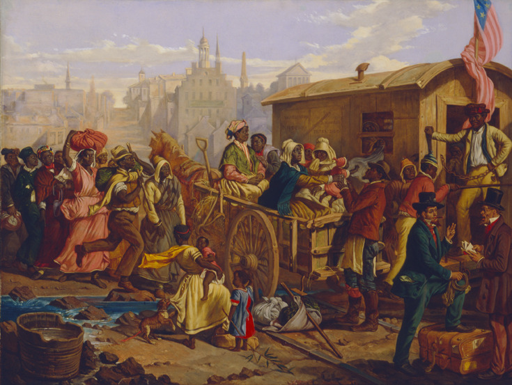After the Sale: Slaves Going South