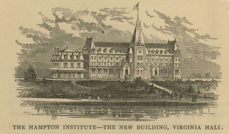 The Hampton Institute: The New Building, Virginia Hall