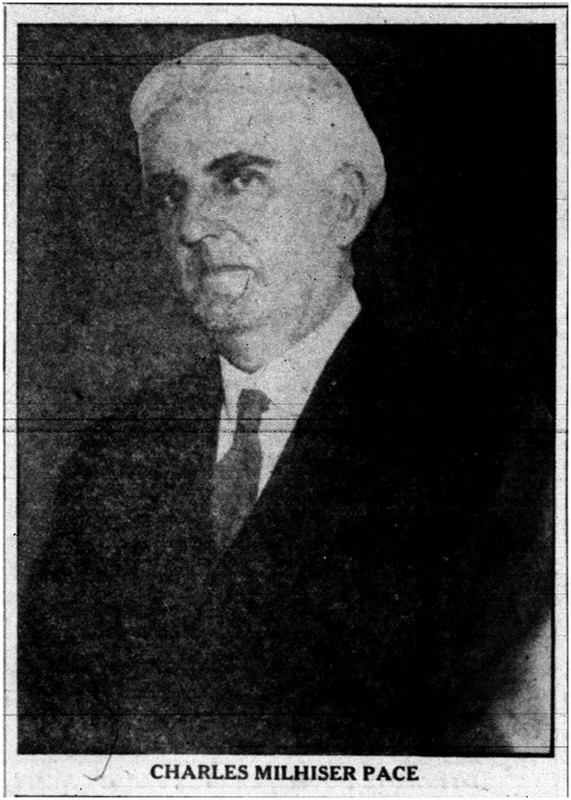 Picture of Charles Milhiser Pace (1876-1936)