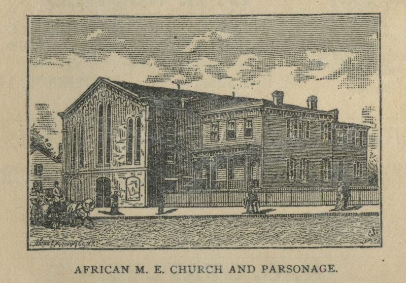 African M. E. Church and Parsonage, Portsmouth