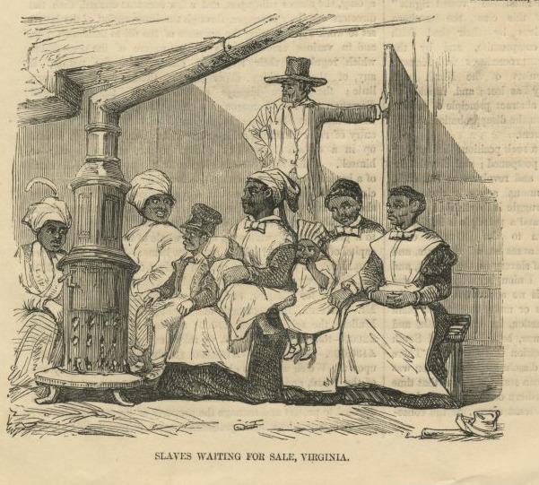 """Slaves Waiting for Sale, Virginia"""