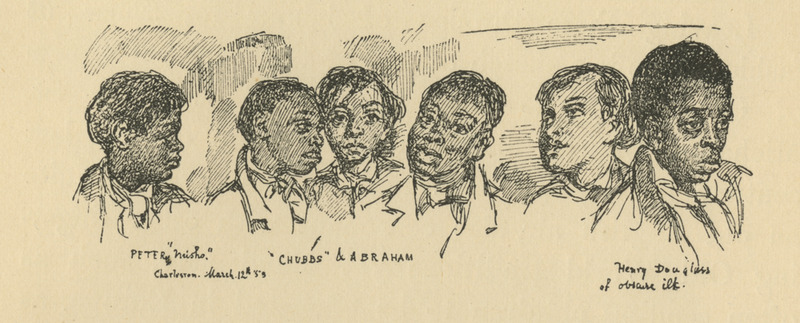 Sketches of African Americans
