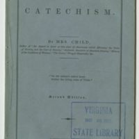 Anti-Slavery Catechism (title page)