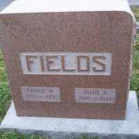 Gravestone of George W. Fields (1853-1932), Elmerton Cemetery, Hampton, Virginia.