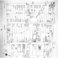 Sanborn Fire Insurance Map of Hampton, Virginia, Sheet 5, July 1910