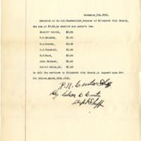 Coroner's Receipt for Jurors