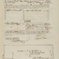 "Insurance Policy for ""Office and Negro Jail,"" George W. Atkinson, owner, Policy 15790"