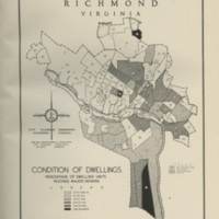 Condition of Dwellings in Richmond, Bartholomew, 1946.