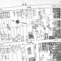 Sanborn Fire Insurance Map of Hampton, Virginia, Sheet 6 (enlargement), July 1910, 124 Wine Street, home of George F. Fields