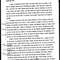 Lorenzo Ivy Life History (WPA, Virginia Writers' Project)