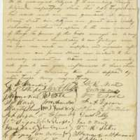 Petition of Residents of Lunenburg County to Governor Francis H. Pierpont
