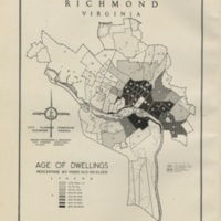 Age of Dwellings in Richmond, Bartholomew, 1946
