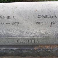 Gravestone of Charles Cosby Curtis (1883-1960), St. John's Church Cemetery, Hampton, Virginia