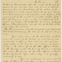 "Instructions to the Commissioners appointed under the Proclamation of his Excellency, the Governor of this Commonwealth for the ""reorganization of Counties not now organized"" under the restored Government of Virginia"