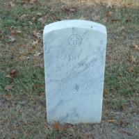 Gravestones of Carl E. Bankson (1903-1979) and Mabel H. Bankson (1898-1983), Little Rock National Cemetery, Little Rock, Arkansas