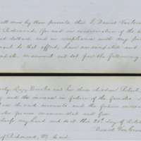 Deed of Manumission for Lucy Goode Brooks and three children