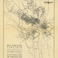 Distribution of Population in Richmond, Bartholomew, 1940