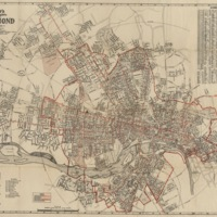 Wagner's Complete Map of Richmond, A.C. Wagner, 1927