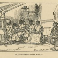 """In the Richmond Slave Market"""