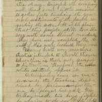 Jacob E. Yoder Diaries, April 28, 1866 entry