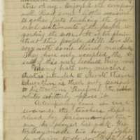 Jacob E.Yoder Diaries, April 28, 1866 entry