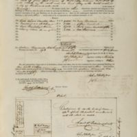Insurance Policy for Bell Tavern & auction stores. Policy 13067.