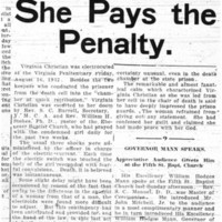She Pays the Penalty