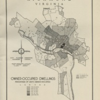 Owner-Occupied Dwellings in Richmond, Bartholomew, 1946