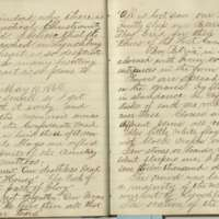 Jacob Yoder's Diaries, entries of May 10-14, 1869
