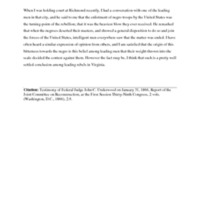 Excerpt of Testimony of Federal Judge John C. Underwood