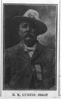 Photograph of Sheriff R.K. Curtis